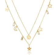 Pozlacený náhrdelník pro ženy Brosway Chant BAH04