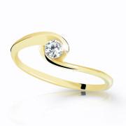 Zlatý prstýnek s kamínkem Z6134Y