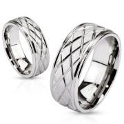 Snubní prstýnky chirurgická ocel 2621