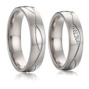 Ocelové snubní prstýnky SPPL019