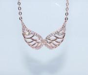 Dámský náhrdelník andělská křídla 308312