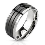Ocelový pánský prsten 3103