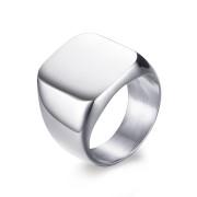 Ocelový pečetní prsten pro muže JCFRC294S