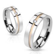 Snubní prsteny z chirurgické oceli 1011