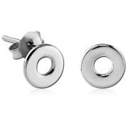 Náušnice do ucha z chirurgické oceli SESCES562