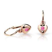 Náušnice pro miminka Cutie C1556R-pink