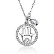 Elegantní dámský stříbrný náhrdelník Brosway New Age G9NA01