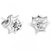 Ocelové naušnice pecky 006-CR