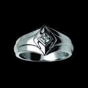 Prsten chirurgická ocel 091-cr