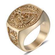 Pečetní prsten se Zednářským znakem WJHZ63