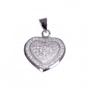 Stříbrné srdce 303084
