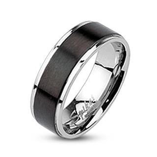 Pánský ocelový prsten 003M