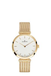 Zlaté dámské náramkové hodinky Dugena Lissa 4460904