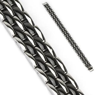 Ocelový náramek Spikes 3831K