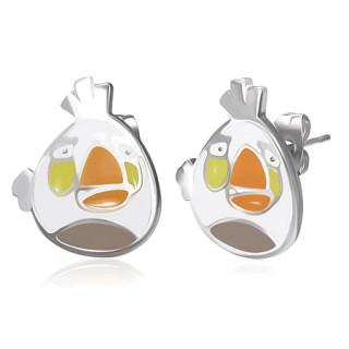 Ocelové náušnice Angry Birds SESSE0111