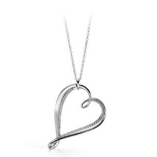 Moderní náhrdelník Brosway Ribbon BBN03
