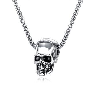 Ocelový náhrdelník lebka JCFGX1513ST