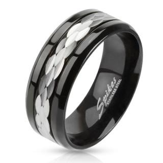 Ocelový prsten 2380