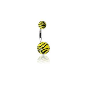 Piercing do břicha 0204 Yellow