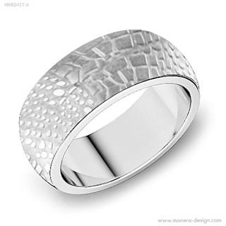 Snubní prsteny z chirurgické oceli MCRSS031