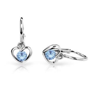 Náušnice pro děti Cutie Jewellery C1943B Arctic Blue