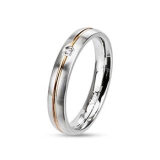 Ocelový prsten Spikes 2127