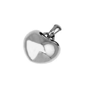 Přívěšek srdce z chirurgické oceli SEJD239