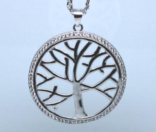 Přívěsek stříbrný strom života 307397