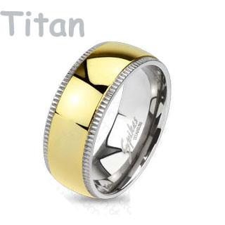 snubní prsteny titanové 4378
