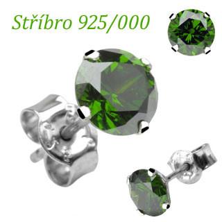 Stříbrné náušnice SEESRD3G