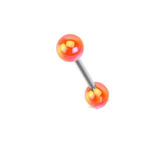 Piercing do jazyka 1103 - Orange