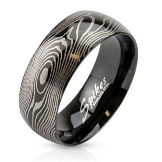 Chirurgická ocel prsten 2782