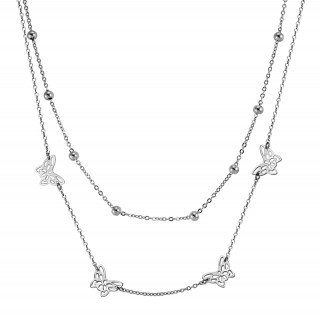 Ocelový náhrdelník MCNSS007