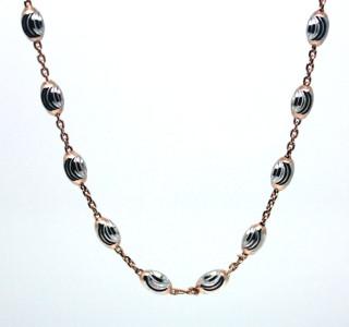Dámský náhrdelník stříbrný 306967