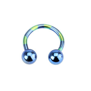 Piercing do ucha T11-BLUE1,6