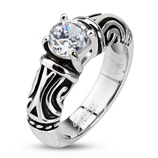 Ocelový prsten 2245