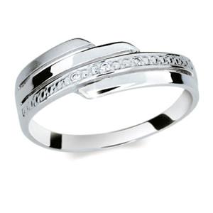 Stříbrný prsten se zirkony 1844