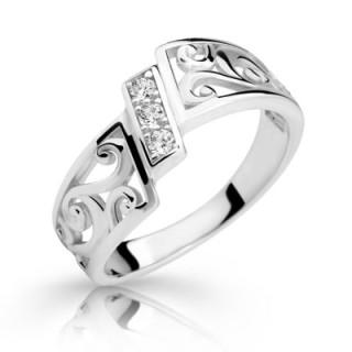 stříbrný prstýnek 2374