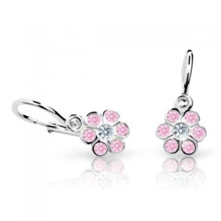 Náušnice pro miminka Cutie C1737B-Pink