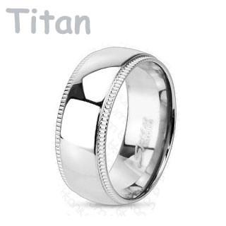 titanové snubní prsteny 3638