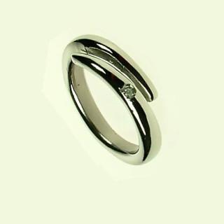 Prsten z chirurgické oceli SELJR715