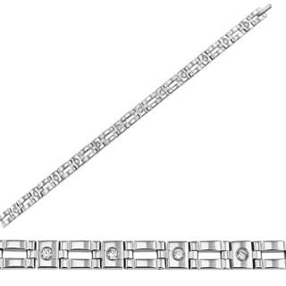 Ocelový náramek SESSB1227