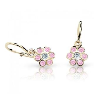Náušnice pro miminka Cutie C1737Z-Pink