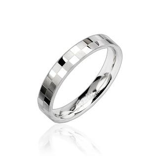 Prsten z chirurgické oceli 8002