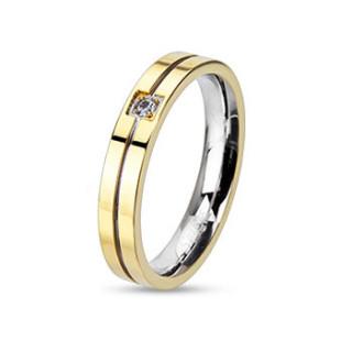 Prsten z chirurgické oceli 2122