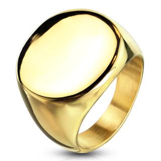 Pánský ocelový pečetní prsten 6575G