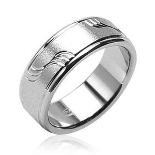 Snubní prsteny chirurgická ocel Spikes H0801