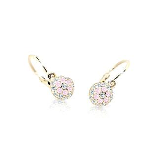 Náušnice pro miminka Cutie C2150Z-Pink