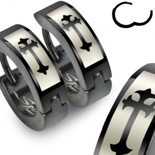 ocelové náušnice 012