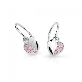 Náušnice pro miminka Cutie Jewellery C2160B-Pink